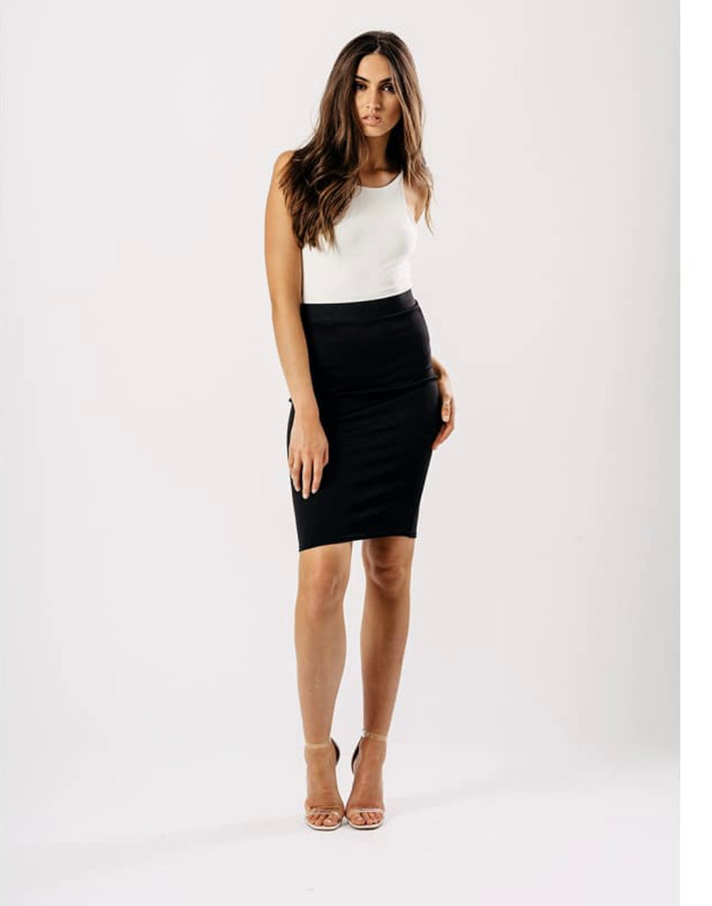 Black Bodycon Pencil Skirt - Skirts black fitted pencil skirt black pencil skirt black skirt Bodycon Skirts influence