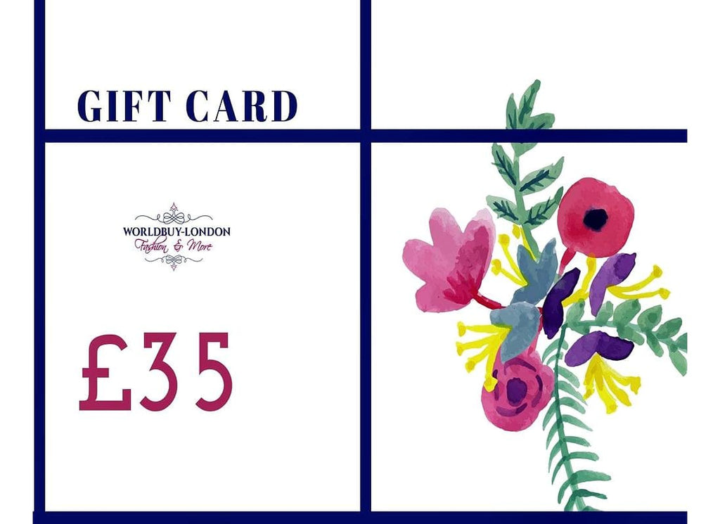Gift Cards - £35 - Gift Card Gift Cards Gift Tokens Gift Vouchers Gifts Prepaid Store Card