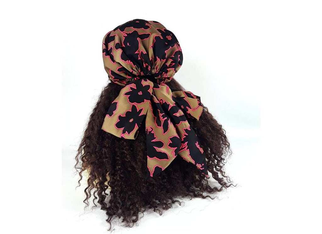 Hair Loss Scarf - One Size / Brown - Head Scarf 6 in 1 Pre Tied Chemo Scarf, Accessories, Bags & Accessories, Hair Accessories, Hair Loss