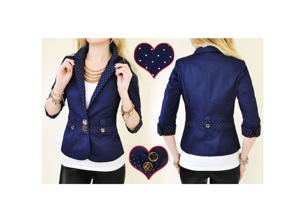 Women Smart Fitted Blazer