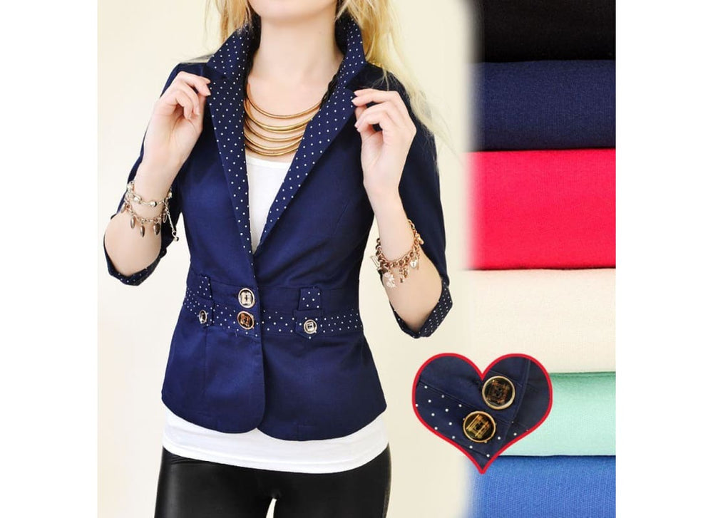 Smart Fitted Blazer