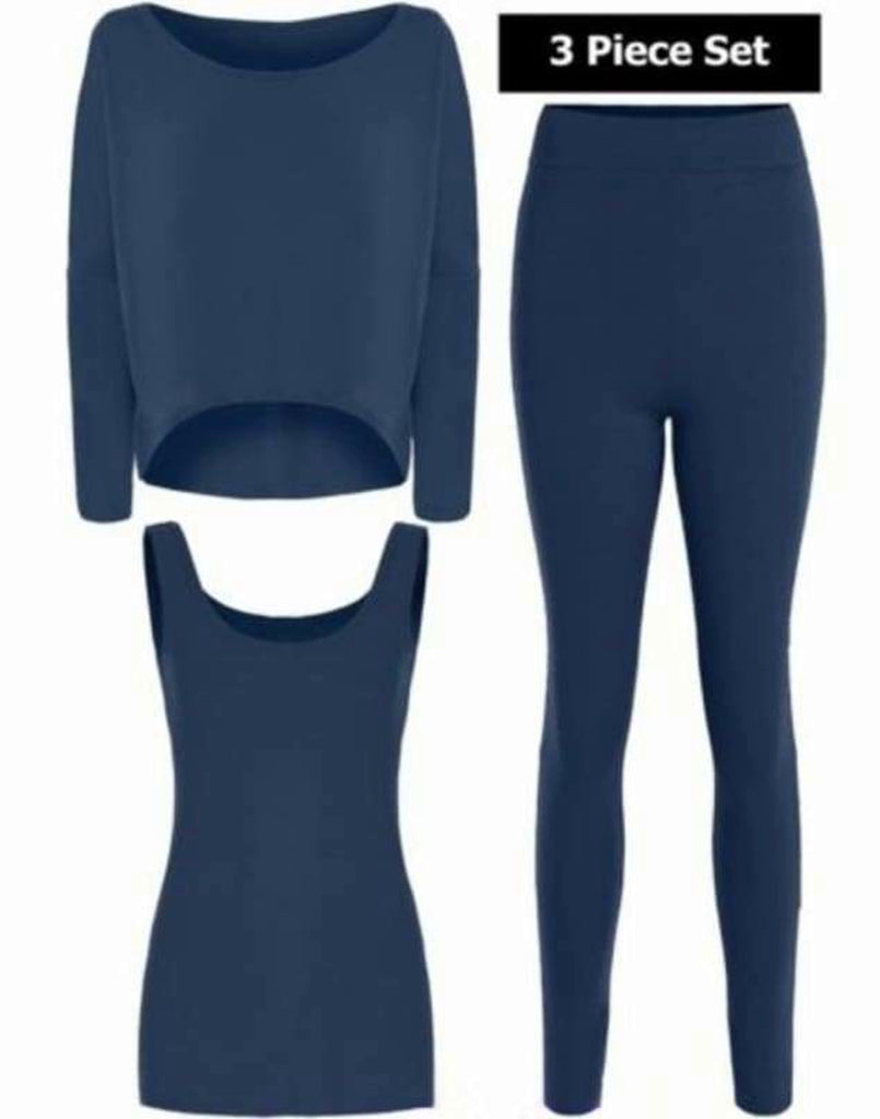 Vest/Top/Legging Jersey ( 3 Piece Set)