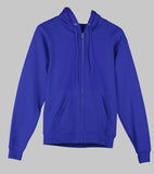 1025 Ring-Spun Cotton 250 Gsm Zipper Hoodies
