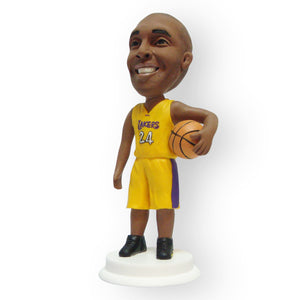 Basketball Lakers Custom Design Single Figurine