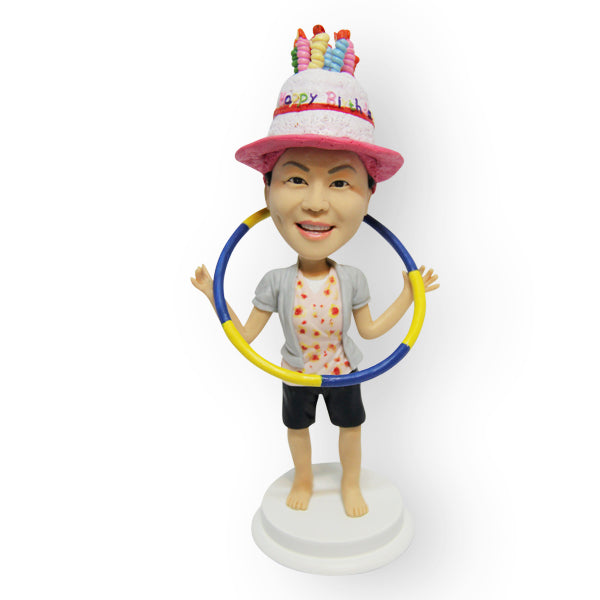 Hula Hoop Custom Design Figurine