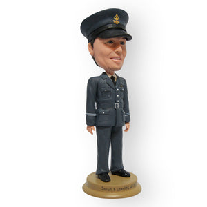 In Uniform Custom Design Single Figurine