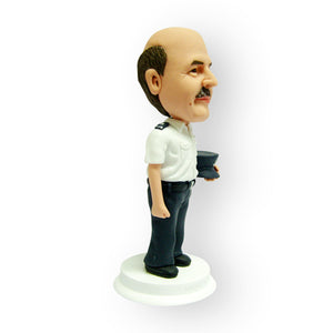 Man In Uniform Personalised Figurine