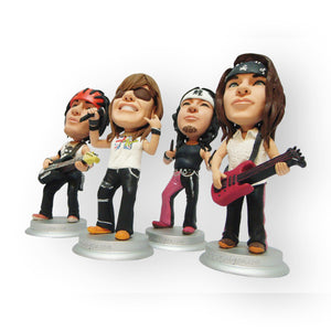 Rock Band Group Figurine
