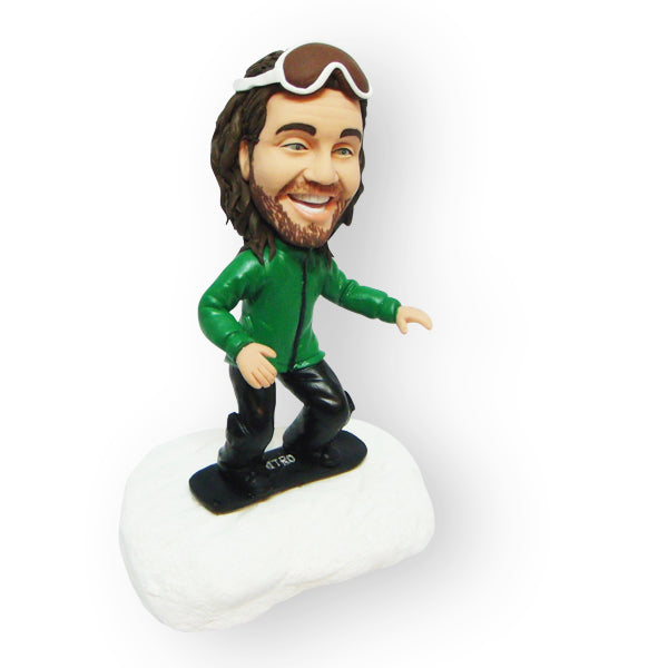 Snowboarder Custom Design Single Figurine