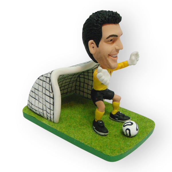 Soccer Goalie Customised Mini Figurine