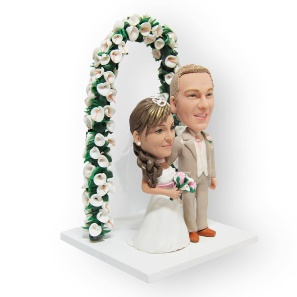 Through The Archway Cake Topper Figurine