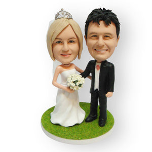 Arm In Arm Cake Topper Figurine
