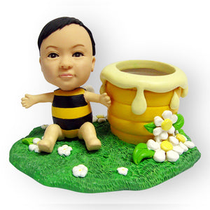Baby Honeypot Pen Stand Figurine