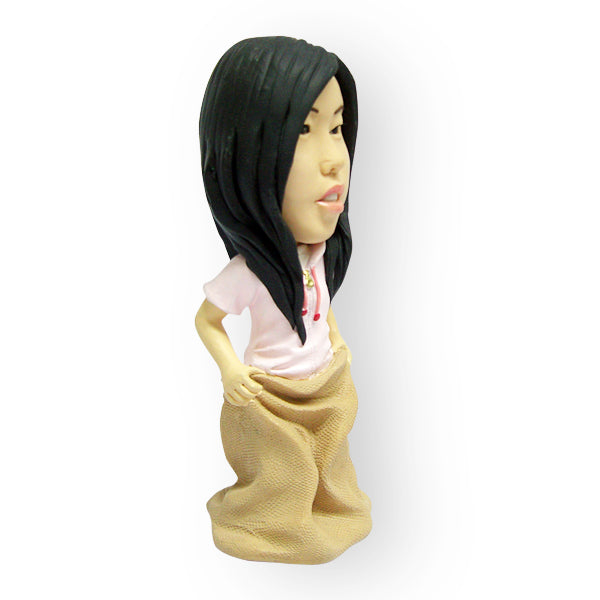 Lady in a Sack Figurine