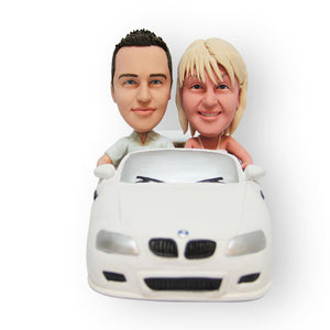 BMW Wedding Cake Topper Figurine