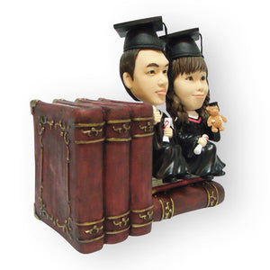 Bookstand Couple Figurine