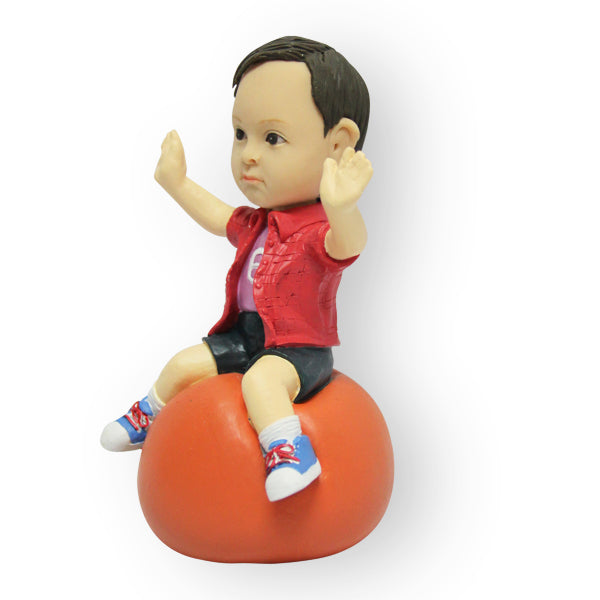 Bouncing Ball Figurine