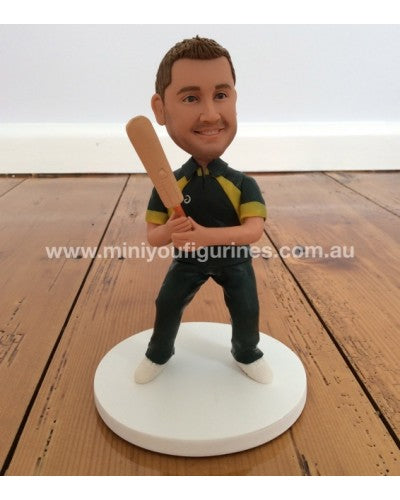 Cricket One Dayer Custom Design Single Figurine