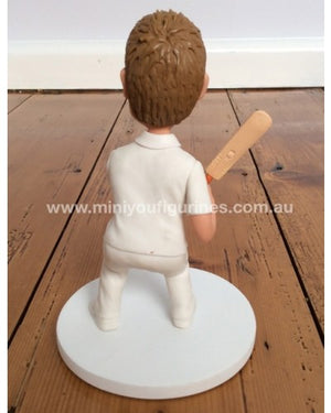 Cricket Test Match Figurine Replica