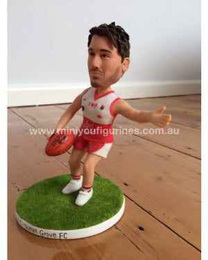 Kicking A Goal AFL Figurine