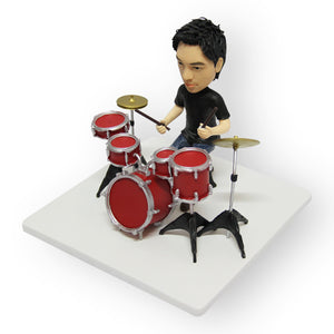 Drummer Male Figurine