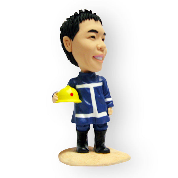 Fireman Firefighter Figurine