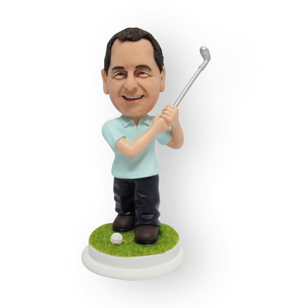 Male Golfer Figurine
