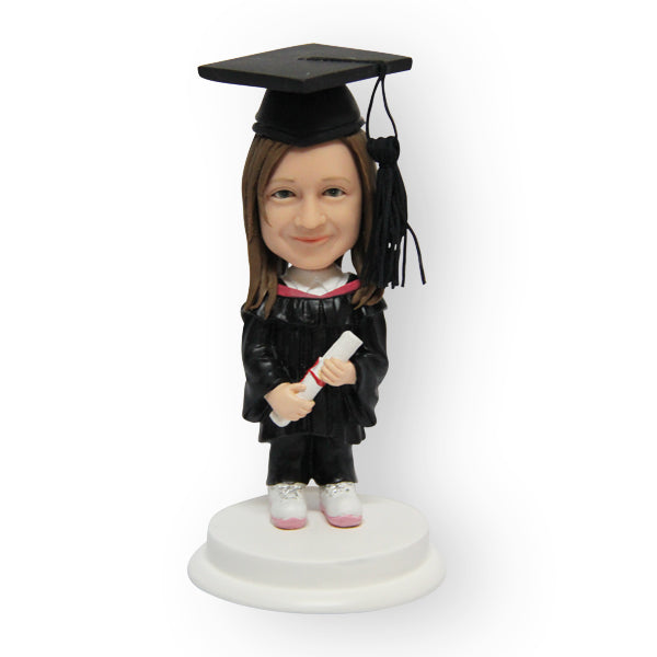 Female Graduation Figurine
