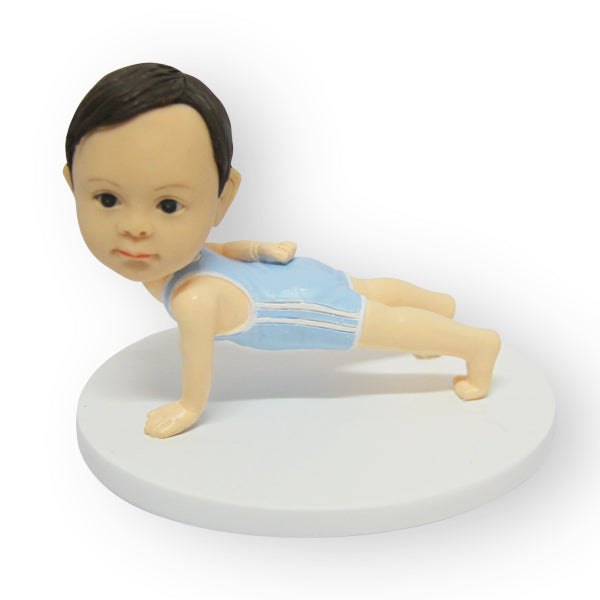 Gym Baby Figurine