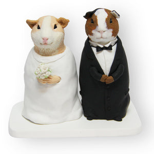 Hamsters Wedding Cake Topper Figurine