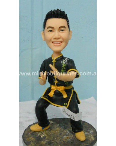 Karate Kid Figurine Custom Design