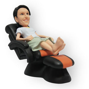 Massage Lounge Figurine - Female