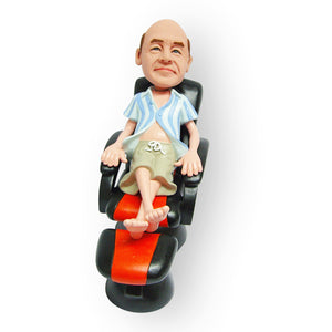 Massage Lounge Figurine - Male
