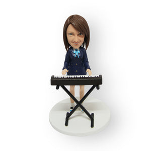 Keyboard / Piano Player Figurine