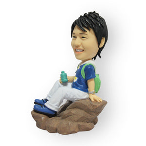 Rock Climber Figurine
