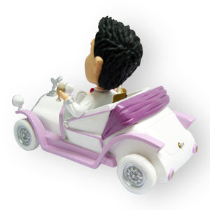 Driving To The Wedding In Your Rolls Royce Figurine
