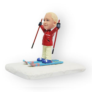 Skiing Son Figurine