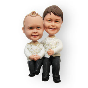 Kids Wedding Cake Topper Figurine