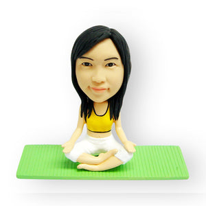 Yoga Pose Figurine