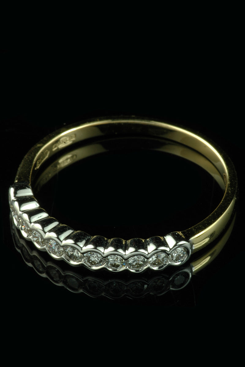 sapphire and diamond full eternity ring goodwins antiques. Black Bedroom Furniture Sets. Home Design Ideas