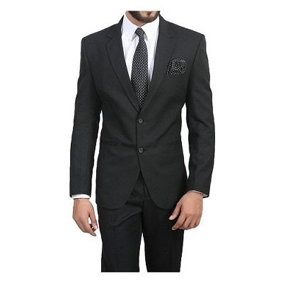 M5, Men's Formal Black Blazer, Size (36 to 44)