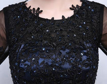Load image into Gallery viewer, G101, Blue and Black Gown, Size (XS-30 to 4XL-48)