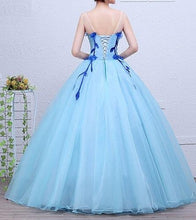 Load image into Gallery viewer, G167, Light Blue Ball Gown, Size (XS-30 toL-38)