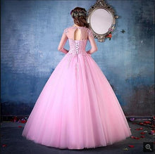 Load image into Gallery viewer, G149, Pink Victoria Ball Gown (Engagement Gown), Size (XS-30 to L-36)