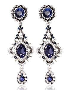 Dark Blue Earing