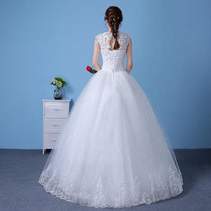 White Ball Gown S1, Size (XS-30 to XXL-44), W154