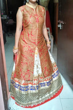 Load image into Gallery viewer, L42, RML Sharara Indo-western Lehenga, Size (XS-30 to XXL-42)