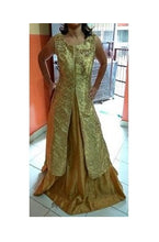 Load image into Gallery viewer, Golden Sharara, Size (XS-30 to XL-40), L51,