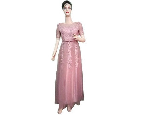 G95, GPink Gown, Size (XS-30 to L-36)