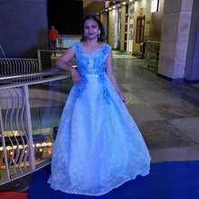 Load image into Gallery viewer, G88, Sweet Sky Blue Ball Gown, Size (XS-30 to XL-40)